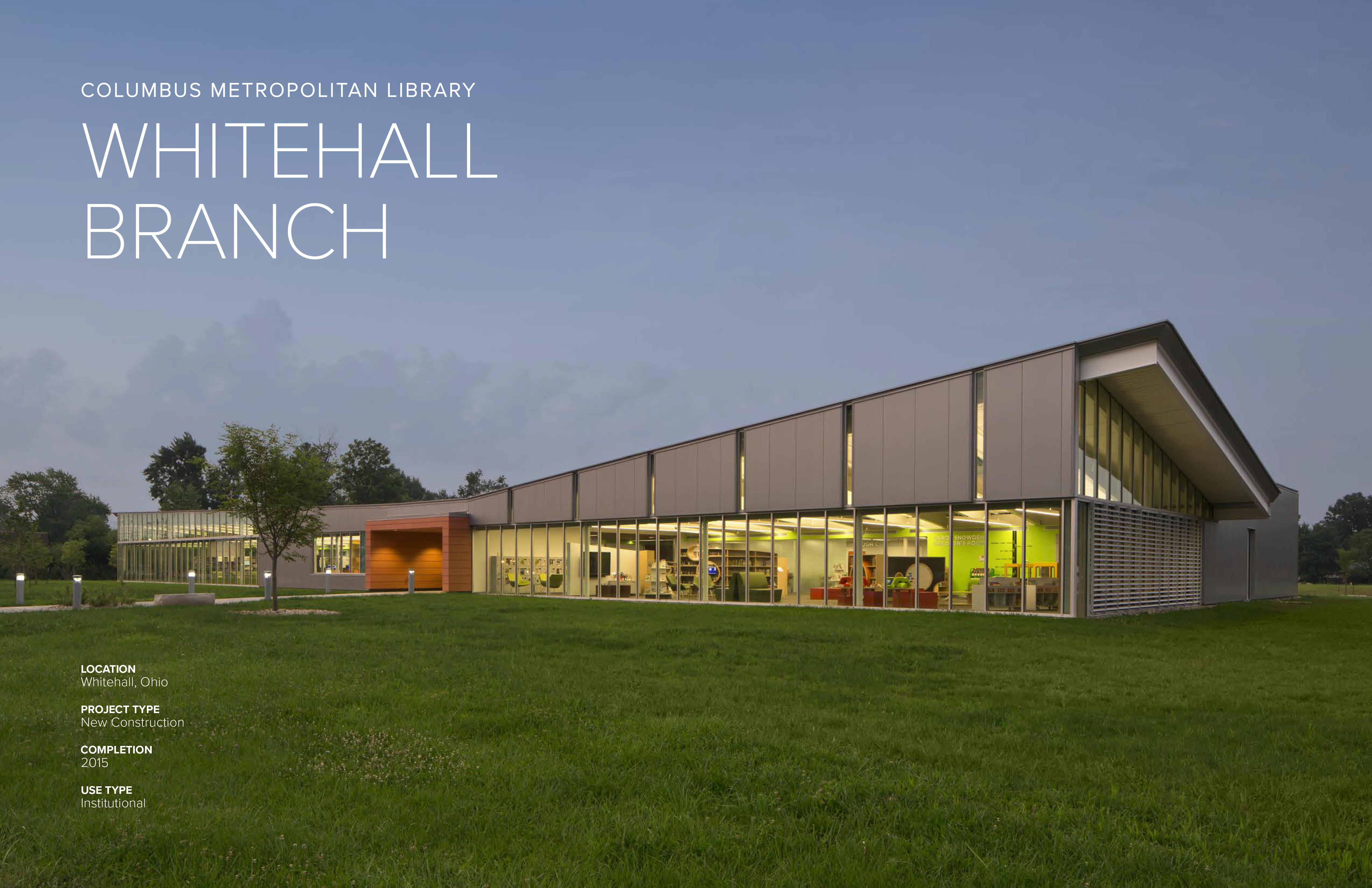 Whitehall Branch Library | Jonathan Barnes Architecture and Design