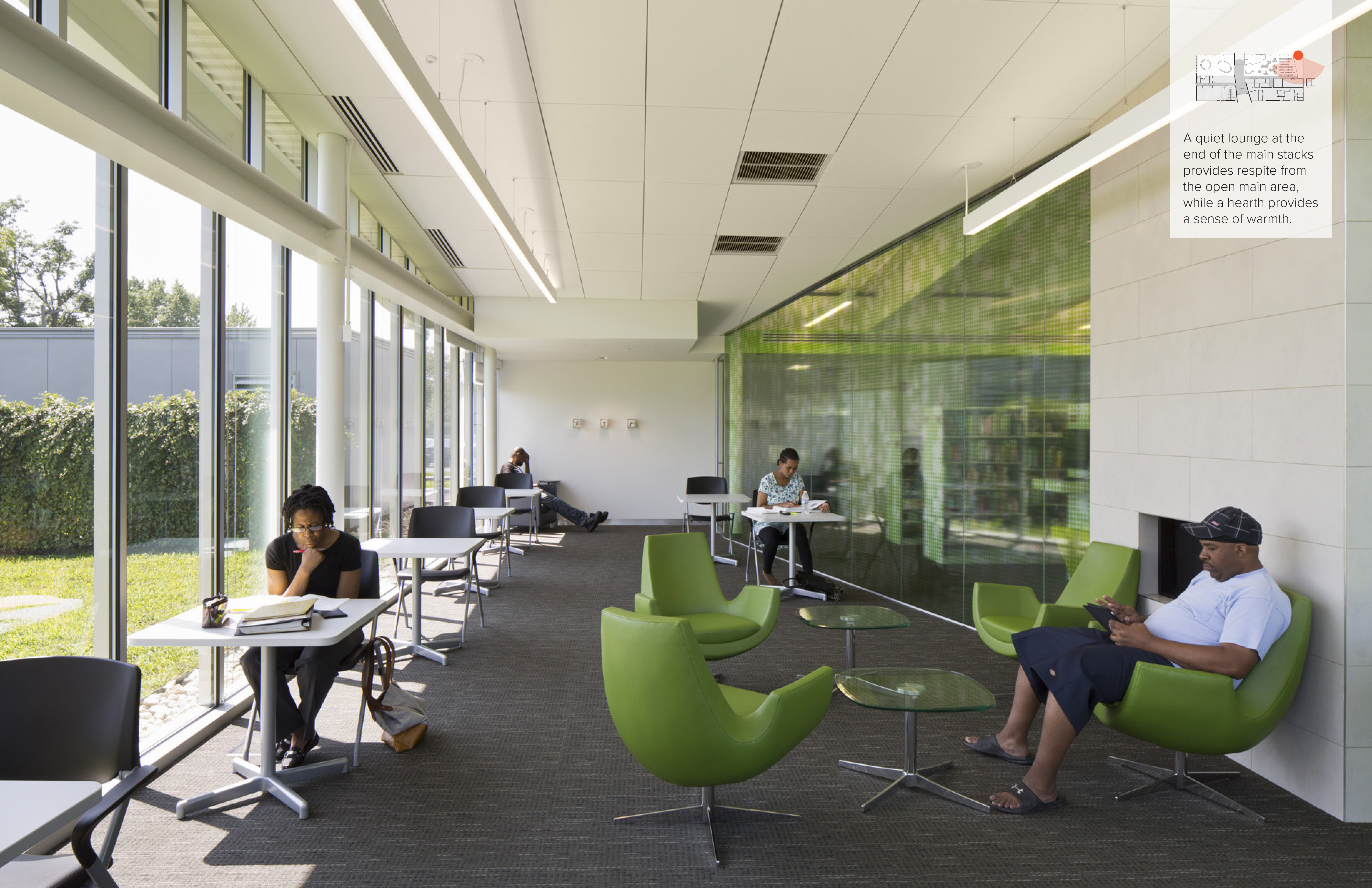 Whitehall Branch Library   Jonathan Barnes Architecture and Design