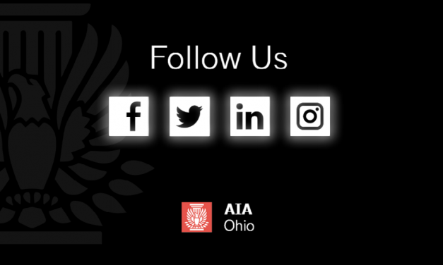 AIA Ohio President's Message, May Newsletter