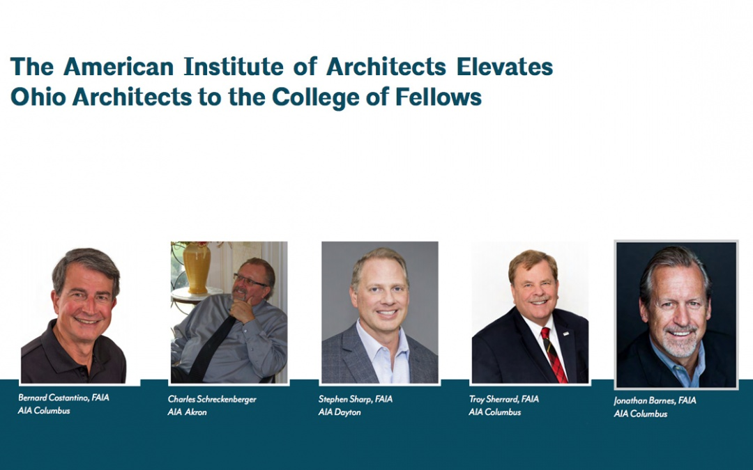 The American Institute of Architects Elevates Ohio Architects to the College of Fellows