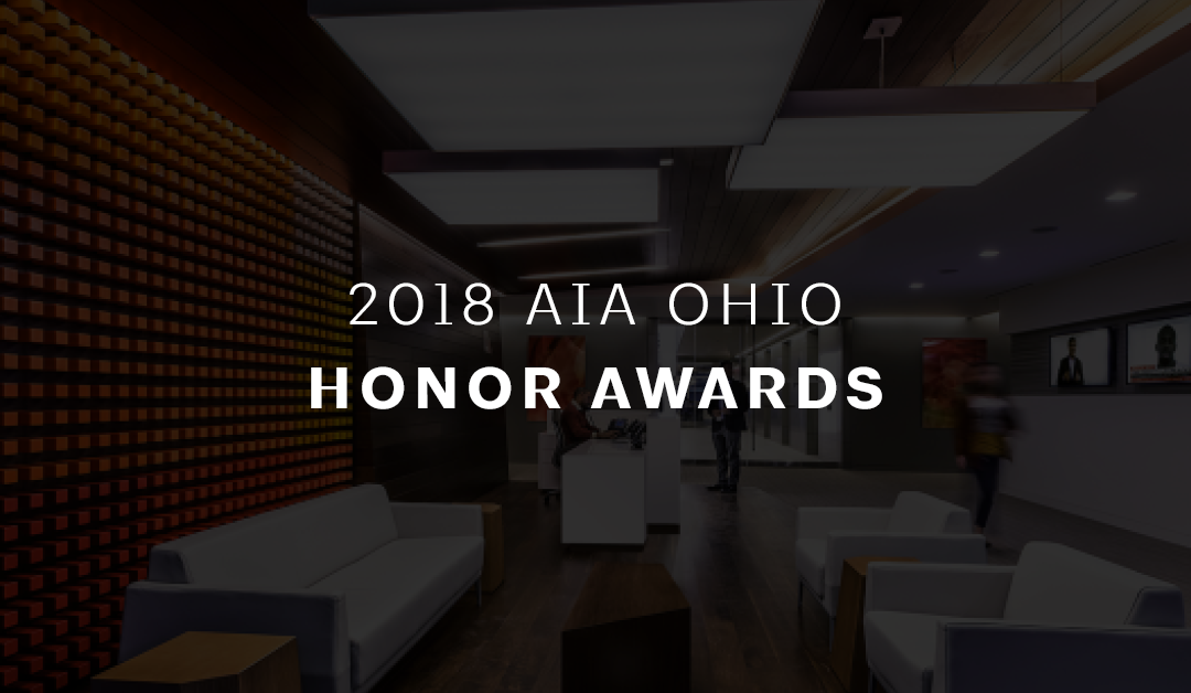 AIA Ohio 2018 Honor Award Winners