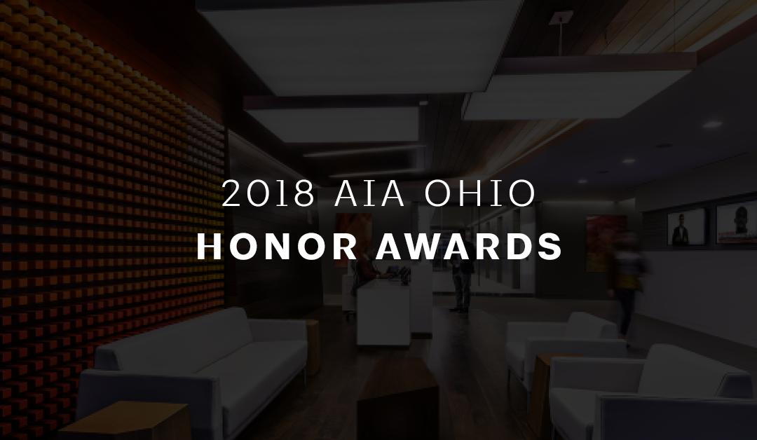 AIA Ohio 2018 Honor Award Winners